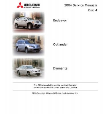 Mitsubishi Service Manuals