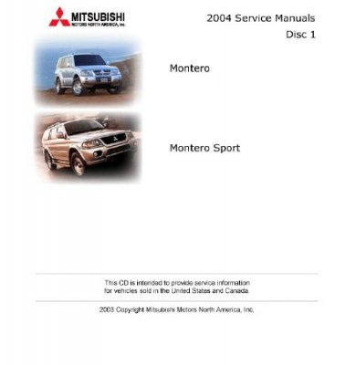 Mitsubishi Service Manuals (USA, 2004)
