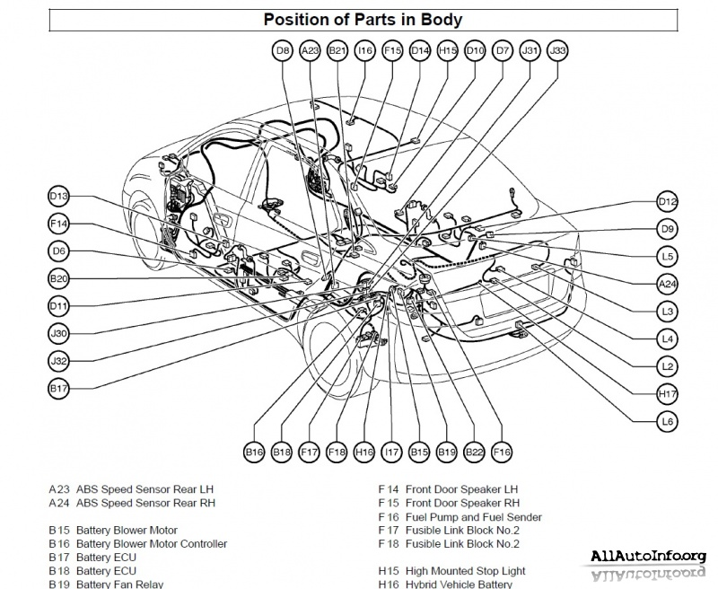 3057 Prius Toyota 2003g Sxemy Yelektrooborudovaniya on 2010 mazda 3 undercarriage diagram