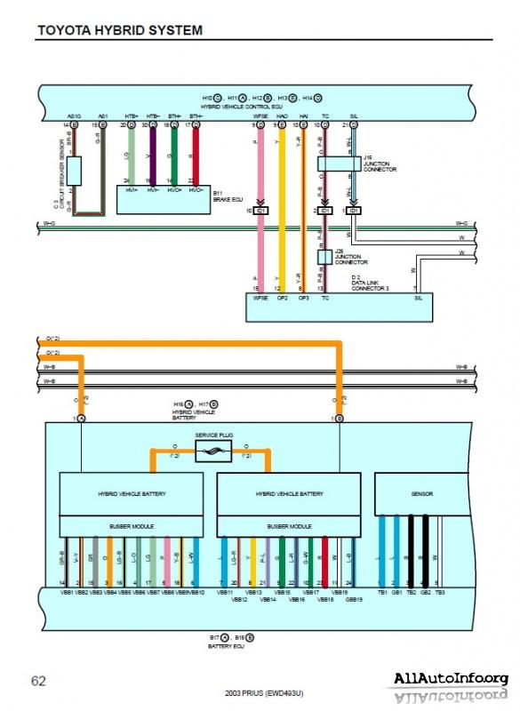 Toyota Prius Hybrid Wiring Diagram