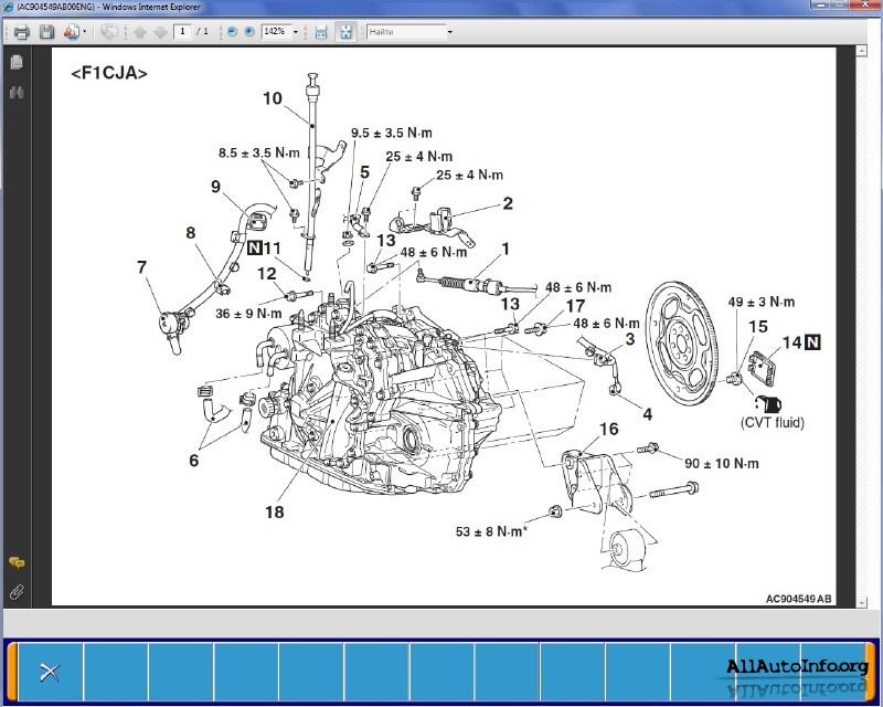 Mitsubishi ASX Workshop Manual