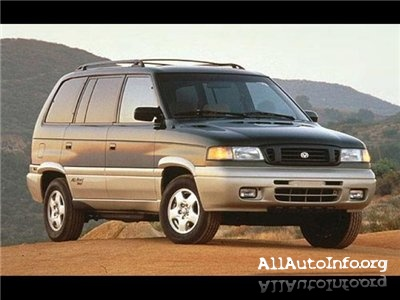 Mazda MPV (1989-1998) Workshop Manual