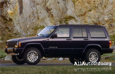 Jeep Cherokee XJ Service Manual 1988-2001