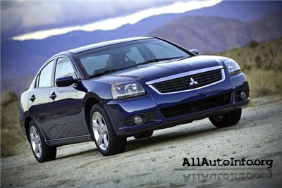 Mitsubishi Galant Workshop Manual (2004-2007)