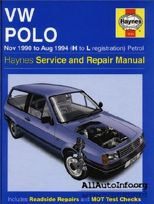 VW Polo 1990-1994 Service And Repiar Manual