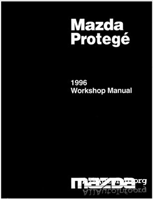Mazda Protege, Familia, 323 1996 Workshop Manual