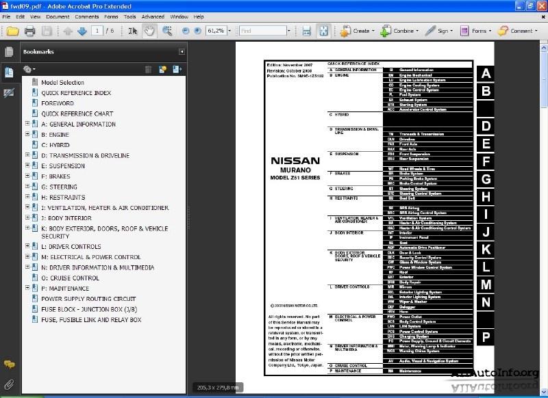nissan car manuals free download