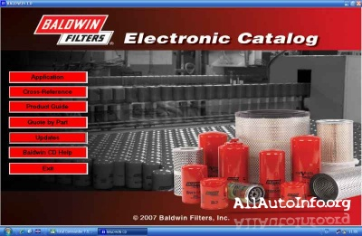 Baldwin Filters Electronic Catalog v1.2