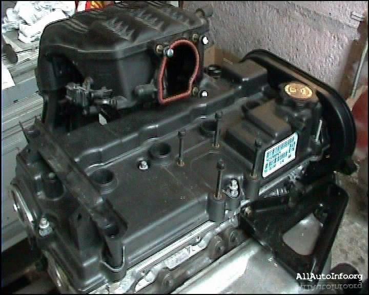 Ремонт двигателя Chrysler 2,4L