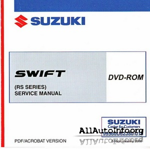 Suzuki Swift Service Manual (2005)
