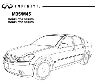 Infiniti M35-45 Y34 Y50