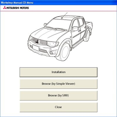 Mitsubishi L200 2011 Workshop Manual