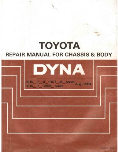 Toyota Dyna 1984.
