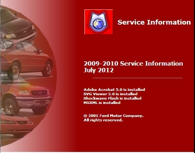 Ford Service Information (2006-2013)