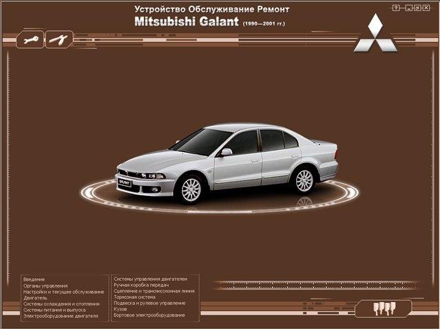 Программа Для Диагностики Mitsubishi Galant 1997