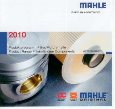 MAHLE 2010 Product Range Filters / Engine Components