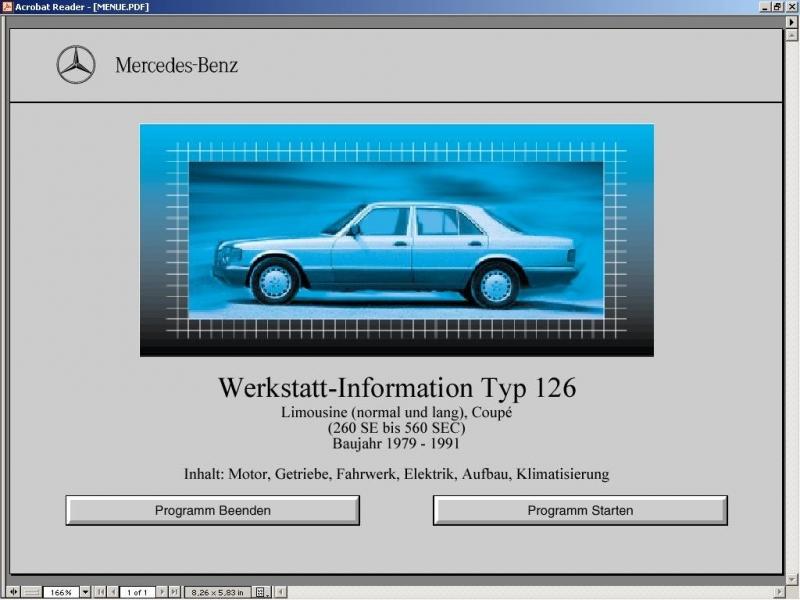 с индексом кузова W126.