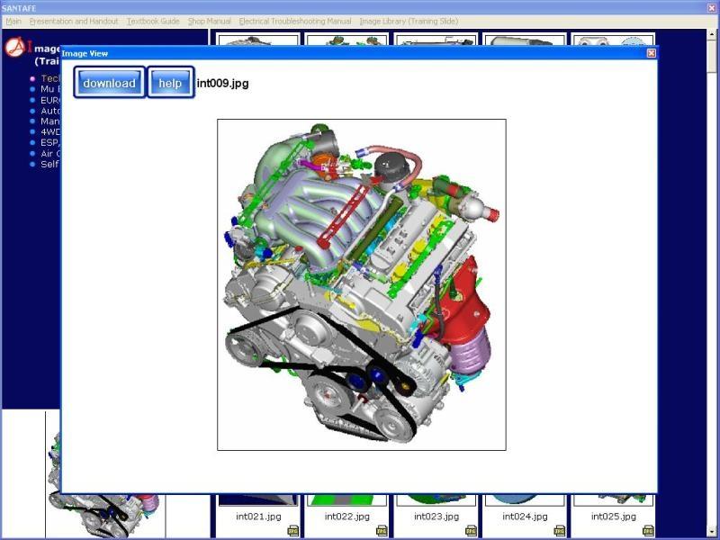 Hyundai Santa Fe 2006 Service