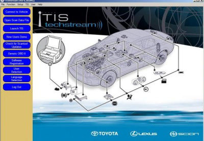 Toyota Techstream 12.10.019