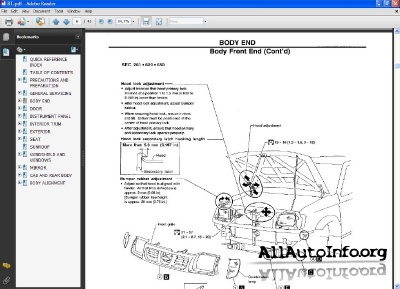 Nissan Frontier, PickUp Service Manual D22 D40