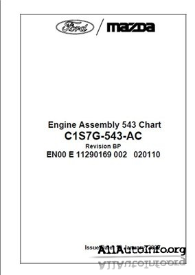 Ford, Mazda Duratec HE Assembly Manual