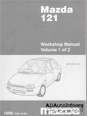 Mazda 121 Workshop Manual