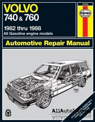 Volvo 740 760 Repair Manual 1982-1988