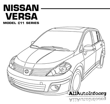 Nissan Versa / Tiida / Latio 2007-2011.Service manual.