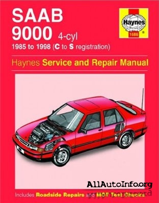 SAAB 9000 4-cyl 1985-98 Service and Repair Manual