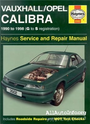 Opel Calibra Service Manual