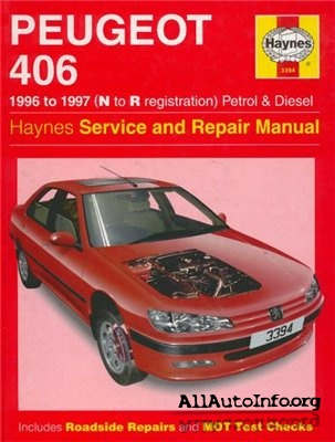 Peugeot 406 Service and Repair Manual 1996-1997