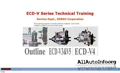 DENSO ECD-V Series Technical Training