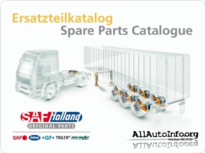 SAF-HOLLAND Spare Parts Catalogue 09/2010 ver 5.2