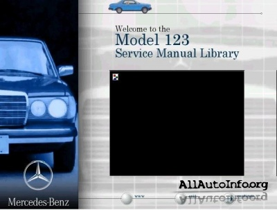 Mercedes-Benz Model W123 Service Manual Library