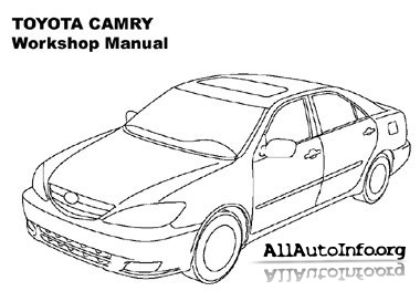 Toyota Camry Workshop Manual 2002-2006