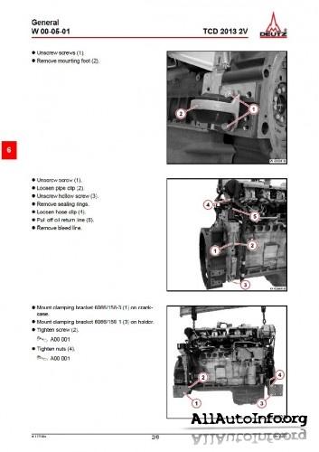 Deutz 1011f Service manual