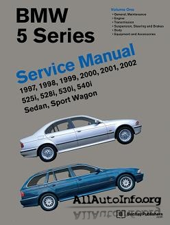 BMW 5 Series Service Manual (E39)