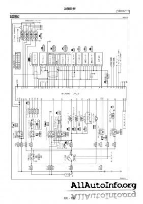 Руководство по ремонту Nissan X-Trail NT30 Service manual ...