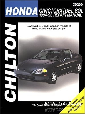 Honda Civic 1984-1995 Repair Manual.