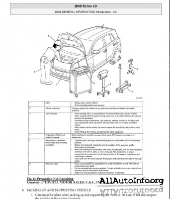Scion XD Service Manual (2008)