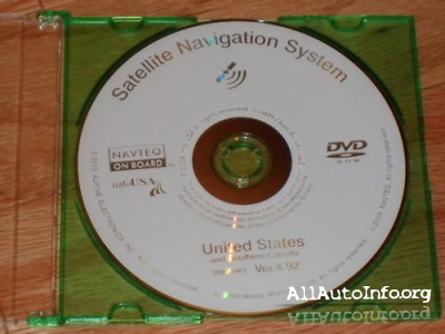Honda / Acura Navigation White DVD Version 4.92 (2010-2011)