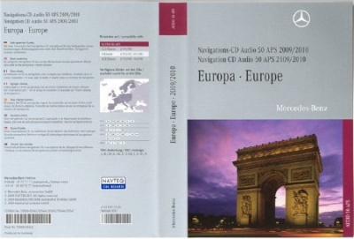 Mercedes Navigation CD Audio 50 APS (NTG1) 2009-2010 v10 Europe