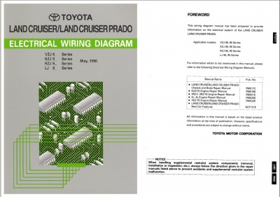 Toyota Land Cruiser Electical Wiring Diagrams (1996-2006)