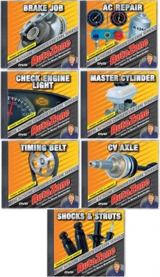 AutoZone Complete Car Care Series DIY Videos DVD's