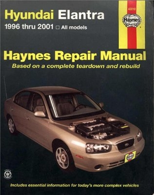 hyundai elantra workshop manual free download