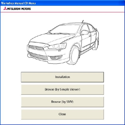 Mitsubishi Lancer X Workshop Manual (2009)