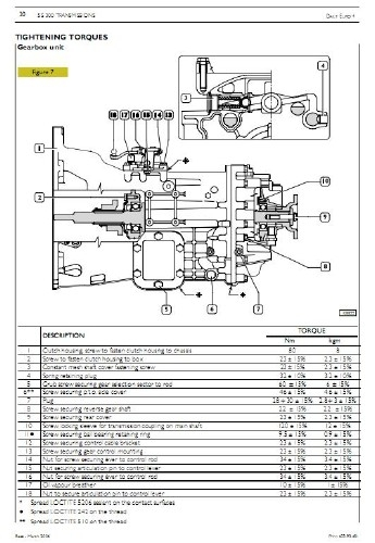 iveco daily euro 4 repair manual  mechanical  electric