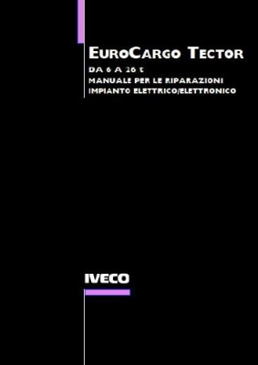 Iveco EuroCargo Tector Electrical Service Manual