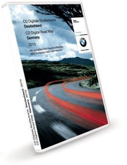 BMW Road Map Germany CD Disc (2010)