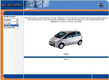 Fiat Idea Elearn